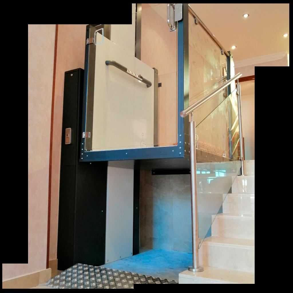 ascensores unifamiliares, elevadores verticales