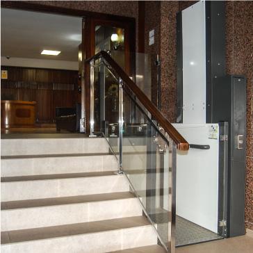 plataforma elevadora vertical, nival