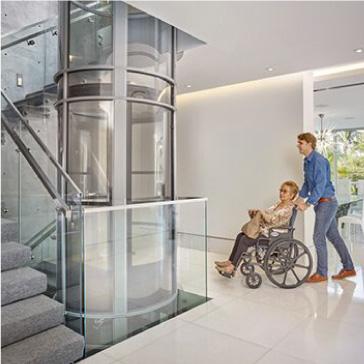 ascensor neumático, Plataforma Inclinada, Silla Salvaescaleras, nival