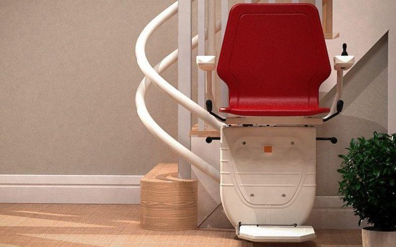 silla salvaescaleras curvo NIVAL